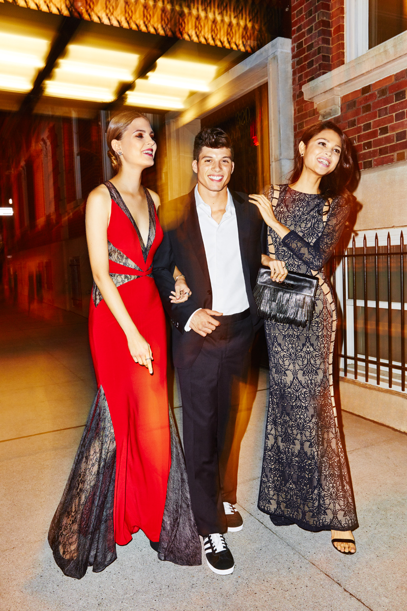 Kate, Joe and Skye for Seventeen Prom