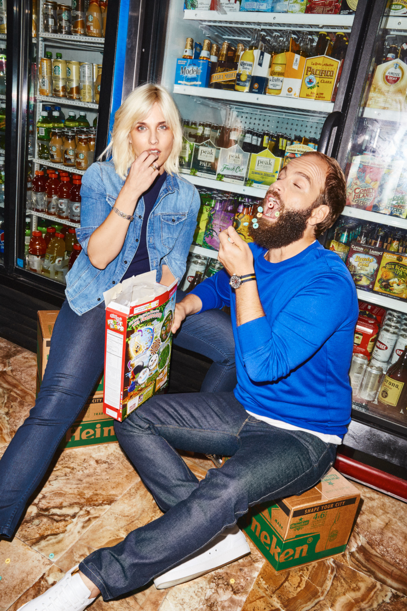 High Maintenance's Katja Blichfeld and Ben Sinclair for GQ