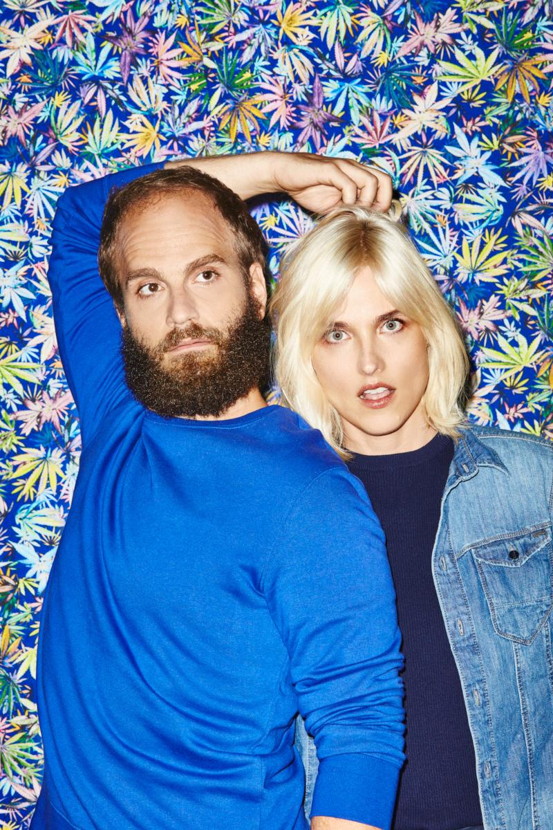 High Maintenance's Katja Blichfeld and Ben Sinclair for GQ