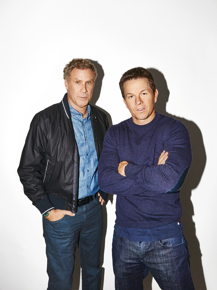 Will Ferrell and Mark Wahlberg for People