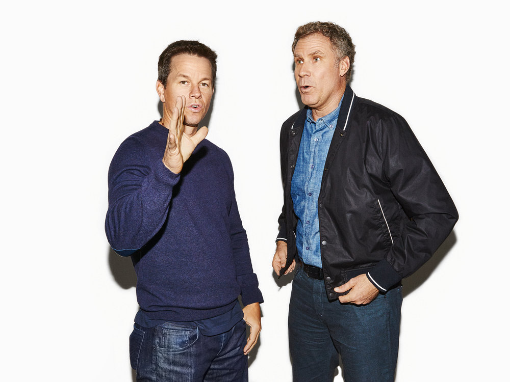 Mark Wahlberg and Will Ferrell for People