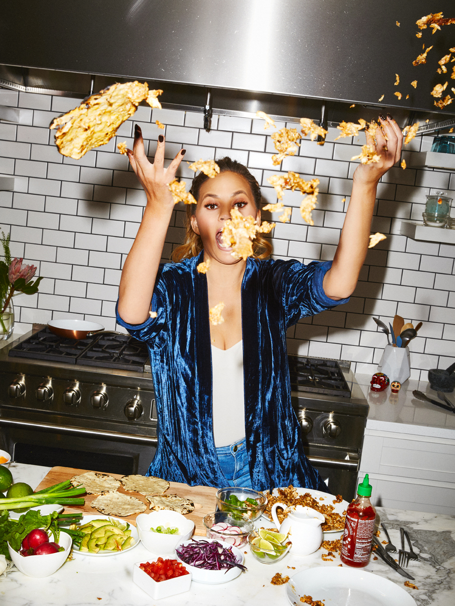 Chrissy Teigen for Entertainment Weekly