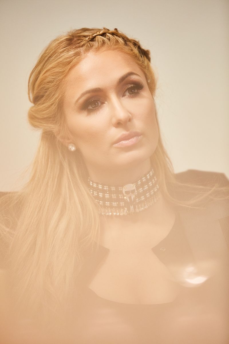 Paris Hilton for Marie Claire