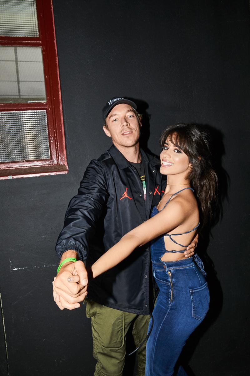 Diplo and Camila Cabello for Billboard