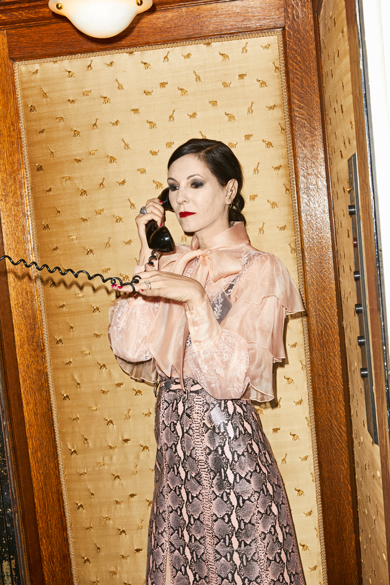 Jill Kargman for Alice + Olivia