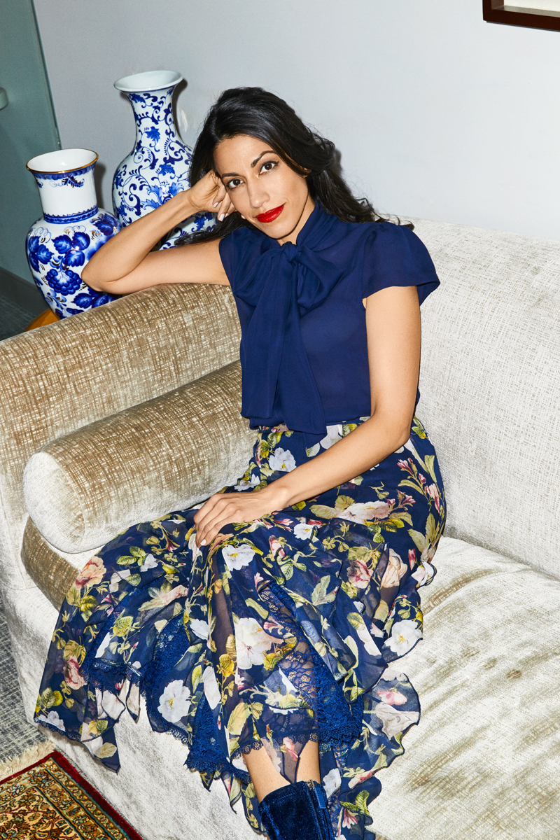 Huma Abedin for Alice + Olivia