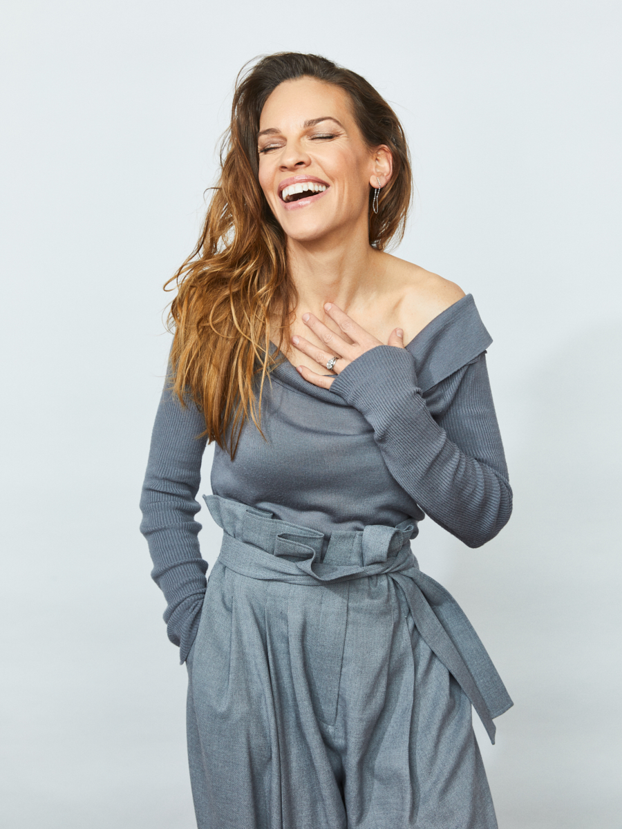 Hilary Swank at Sundance 2019 for Getty Entertainment