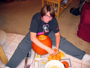 Pumpkin Carving 2005