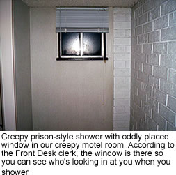 Creepy shower