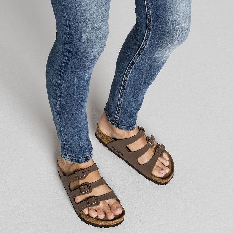 55191fba2929 Florida Soft Footbed Birkibuc Mocha — Masada Leather