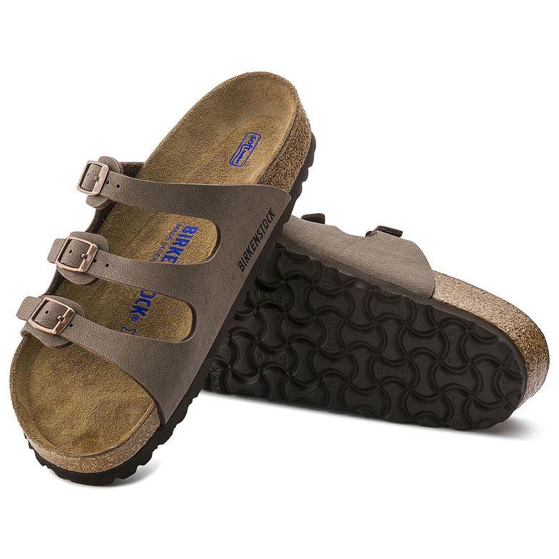 3bb98f9995b4 Florida Soft Footbed Birkibuc Mocha