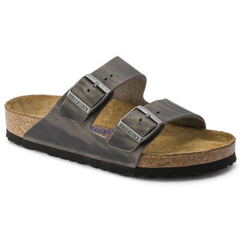 2fed9cce315 Arizona Soft Footbed Iron — Masada Leather