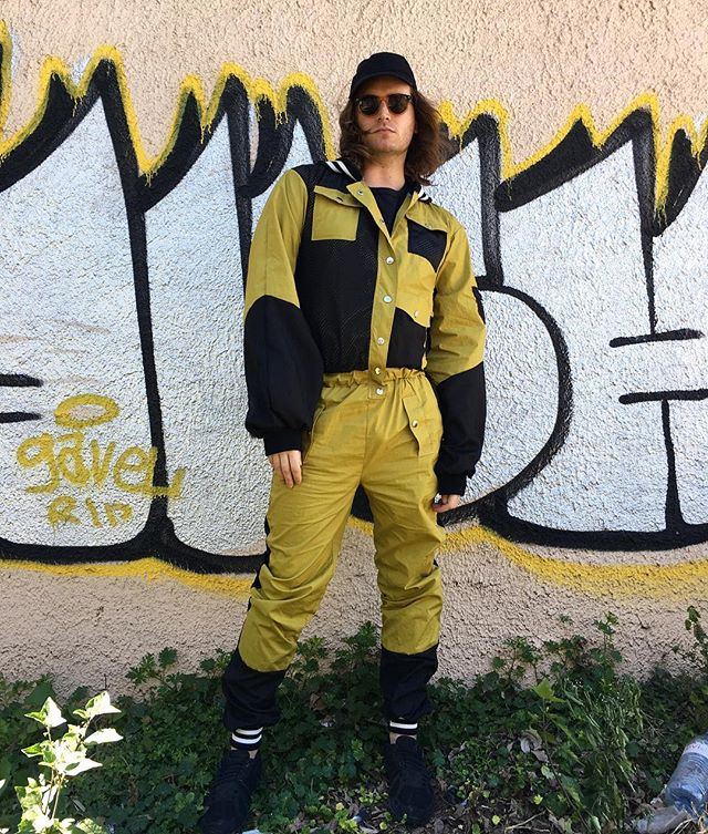 Exploring Austin in a custom jumpsuit looking like I just jumped out of a plane to steal yo man.