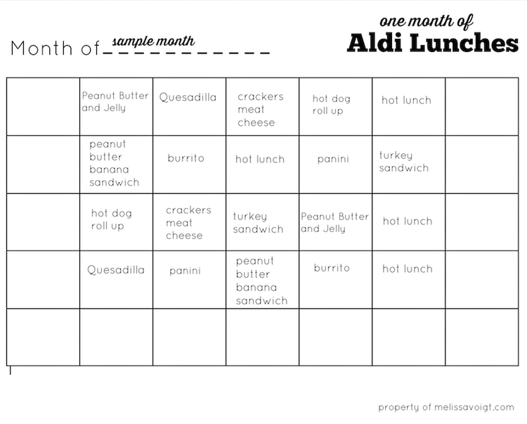 we also included a blank calendar for you to make your own meal plan for your family each calendar is a pdf download free free to print as many as you