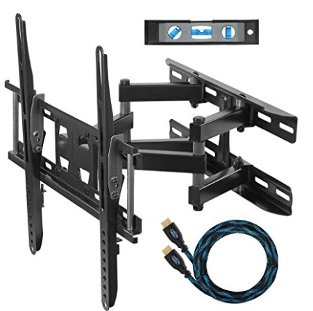 "Amazon_com__Cheetah_Mounts_APDAM3B_Dual_Articulating_Arm_TV_Wall_Mount_Bracket_for_20-65""_TVs_up_to_VESA_400_and_115lbs__Mounts_to_Two_16__studs_and_includes_a_Twisted_Veins_10'_HDMI_Cable_and_a_6""_3-Axis_Magnetic_Bubble_Level__Home_Audio__.jpg"