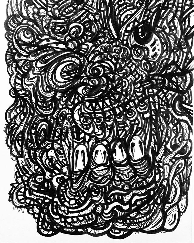 #mood #penandink #doodle