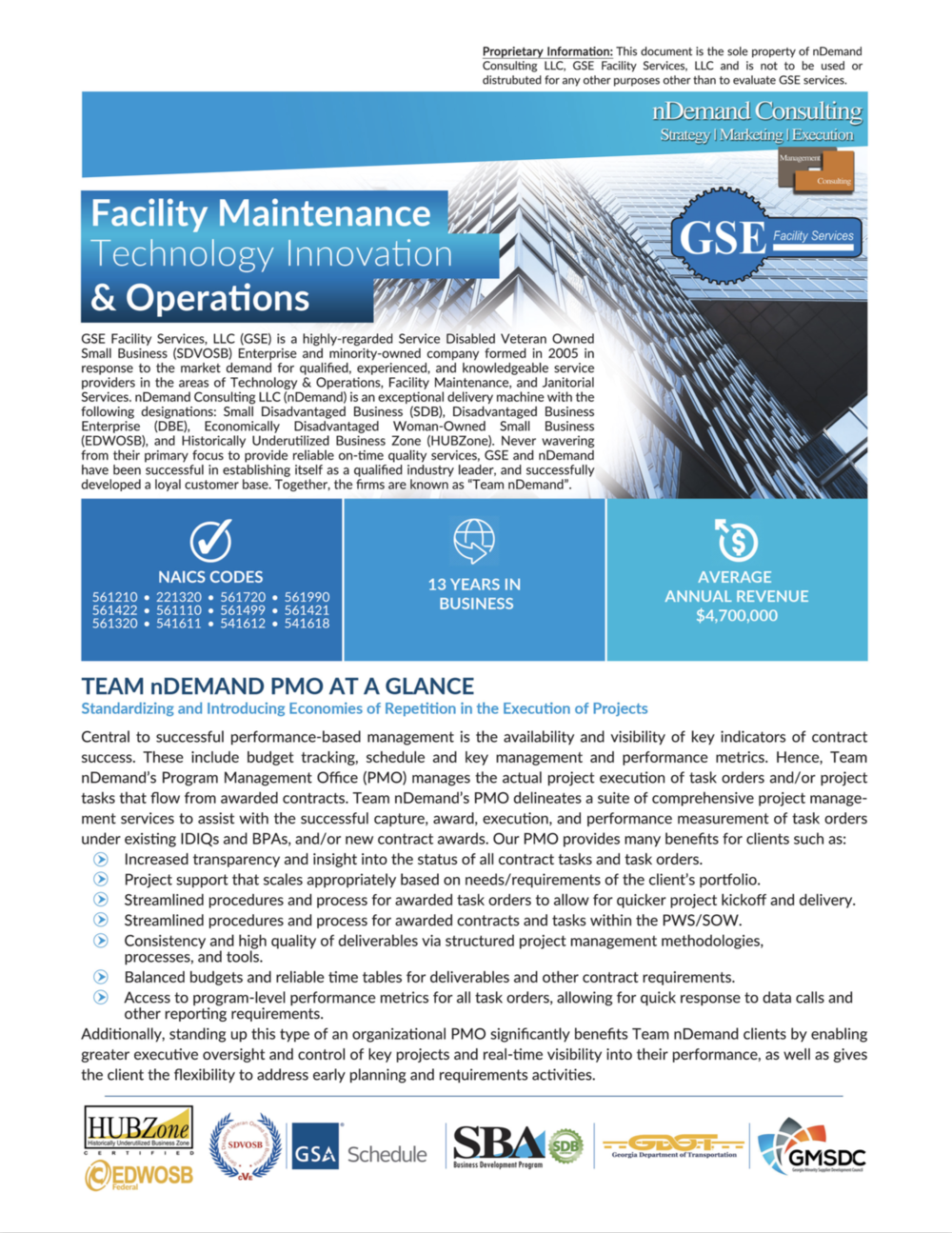 Download Our Facilities Capability Statement Here! -