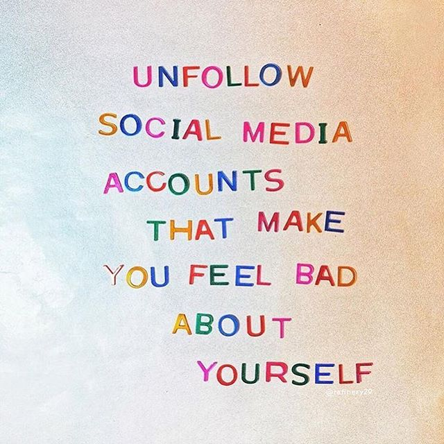 "#rp @namicommunicate ・・・ #TuesdayTips 👏🏾 ➡️ We know how toxic social media can be. On Instagram in particular, so many accounts are curated to show what ""perfection"" looks like. But guess what? No one is perfect. That's why we encourage you to follow those on social media who are uplifting and encouraging. Unfollow the rest. 📲 Btw, we'd love it if you share your self-care tips below! —— 🎨: @blindsaay @refinery29 #curestigma #stigmafree #mentalhealth #mentalillness #selfcare #selflove #byefelicia #unfollowifyouwant"