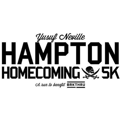 Yusuf Neville Hampton Homecoming 5K The Tropical Smoothie 5K is a Running race in Newport News, Virginia consisting of a 1 Mile, 5K.