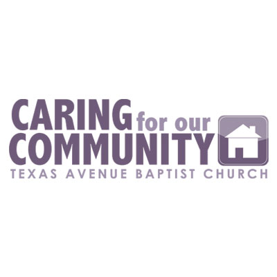 "Logo created for Texas Avenue Baptist Church's community outreach campaign ""Caring for our Community"""