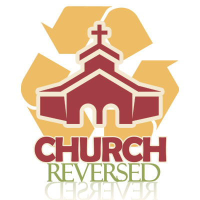 "Logo created for Texas Avenue Baptist Church's special ""Church Reversed"" services."