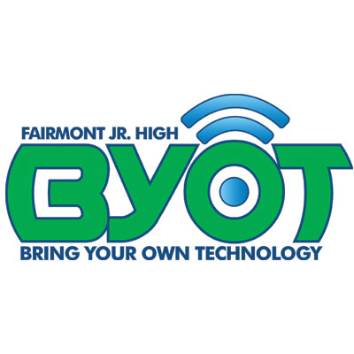 "Logo created for Fairmont Jr. High's ""Bring Your Own Technology"" conference"