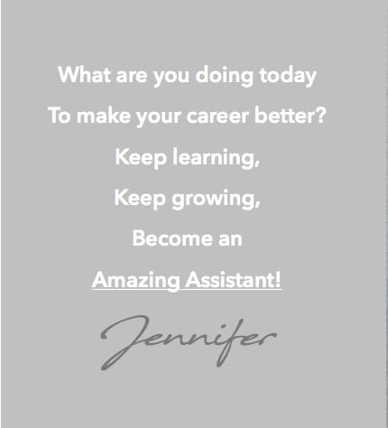 VEA Services, professional development, Amazing Assistants course
