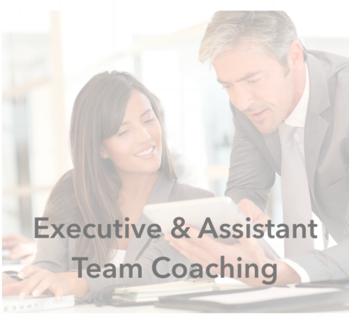 Executive & Assistant team coaching with Jennifer