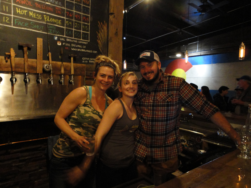 The baddest beertenders around on Old Salt Union night! Photo credit: Bubba