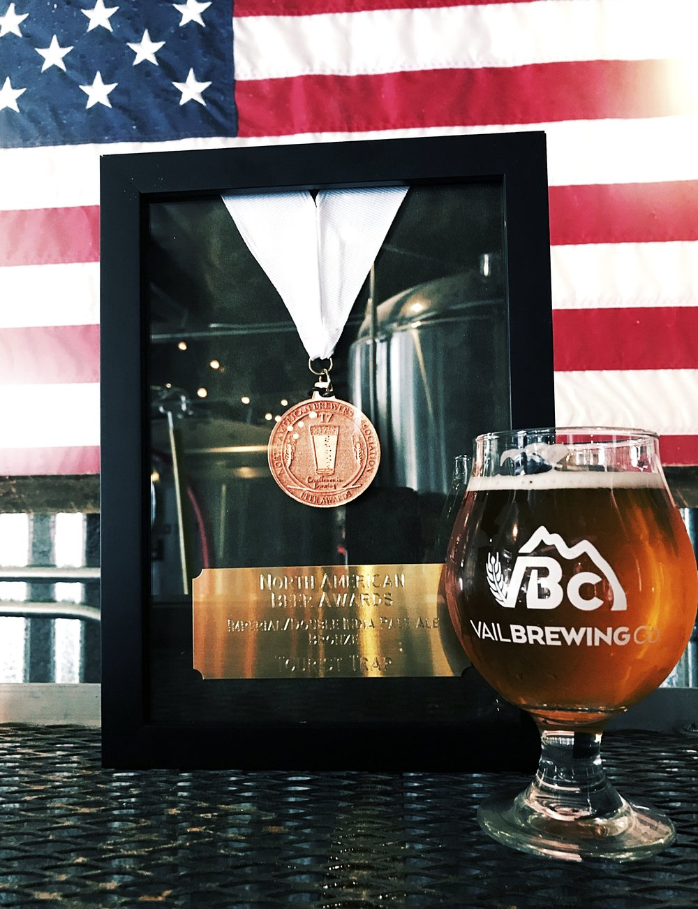 We are extremely proud to have captured the bronze medal at the North American Beer Awards for our Tourist Trap in the Imperial/Double IPA category!! Stop by and try an award winning beer!
