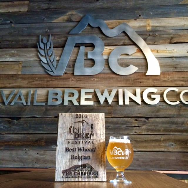 VBC's first award! Thanks Crested Butte Chili & Beer Festival and thanks to everyone who voted for us and our Life's A Peach, Belgian Wit!