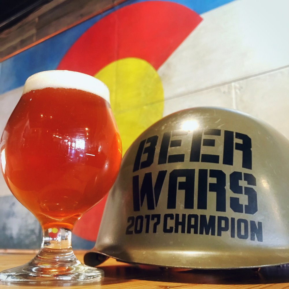 VBC is proud to announce our blind taste test win at 10 Barrel Brewery's IPA Beer Wars held in Denver, CO on September 23rd 2017.  Thank you 10 Barrel for the opportunity to participate and to all of the other breweries making delicious IPAs.  Cheers!