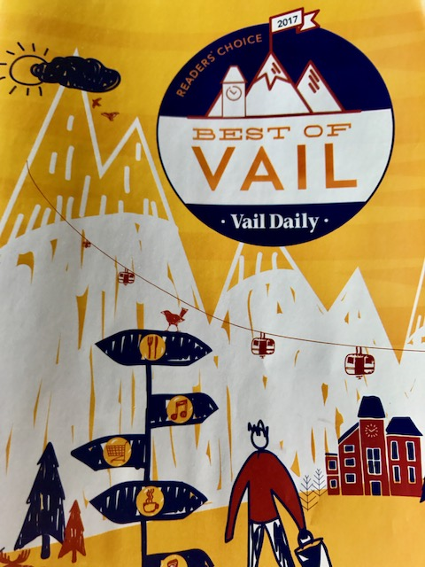 Thanks to all who voted for VBC in 'The Best of Vail 2017' VBC appreciates all of our customer supporters!   We had two first place votes in Best Local Beer, and Best Craft Beer Selection...two second place votes in Best Patio and Best Vibe...and a third place vote in Best Happy Hour (Avon)