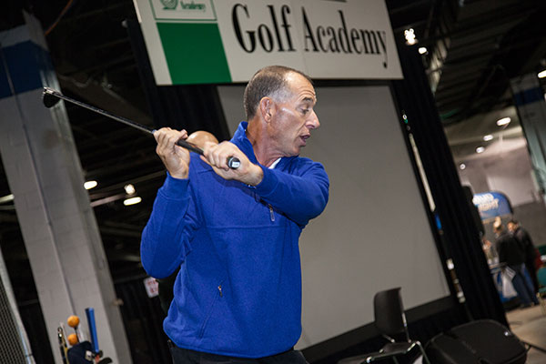 PGA touring professional Chip Beck