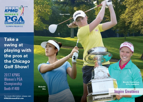 *Rules and restrictions may apply. Competition rules and regulations are posted on the Championship website (www.KPMGWomensPGA.com). Must be 18 years or older to be eligible.