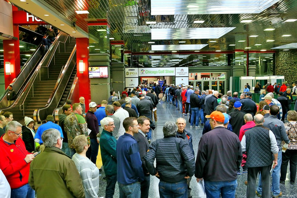 Everyone was ready for the 35th Annual Chicago Golf Show®!