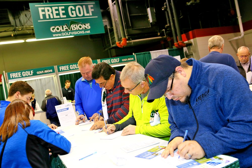 Every attendee received a FREE round of golf courtesy of GolfVisions!