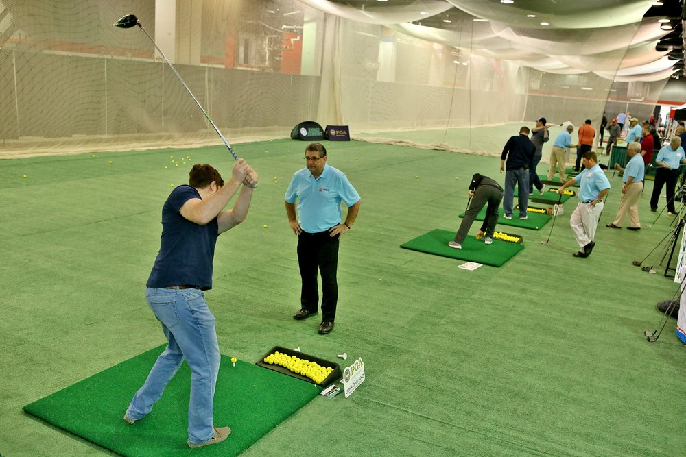 Attendees had the chance to try out the newest clubs at Demo Days!
