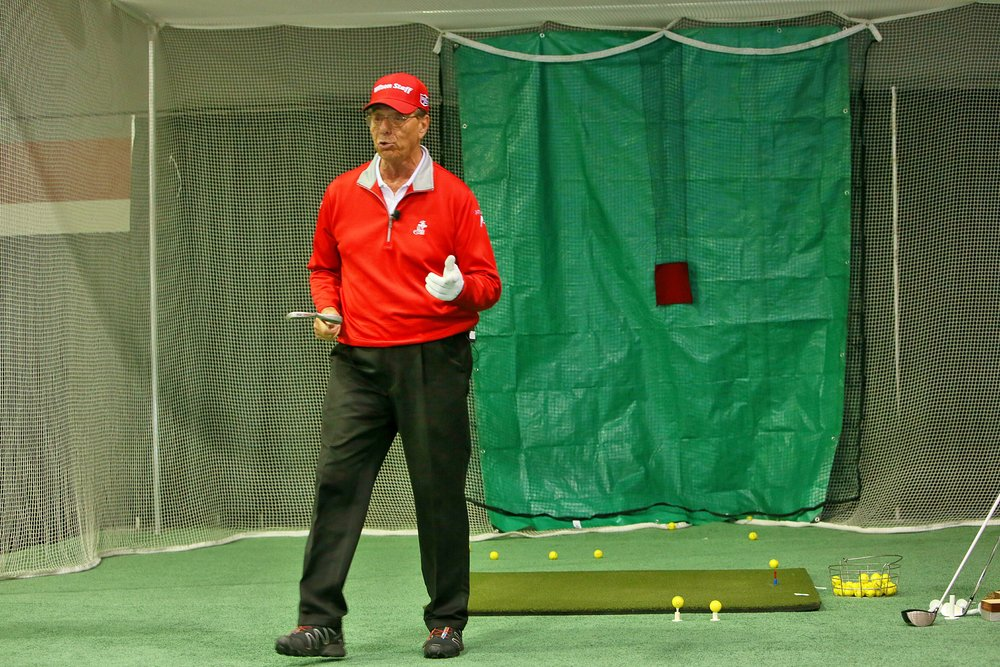 Peter Longo, a PGA Life Member and a world class trick shot artist, WOWED the Main Stage with his talents!