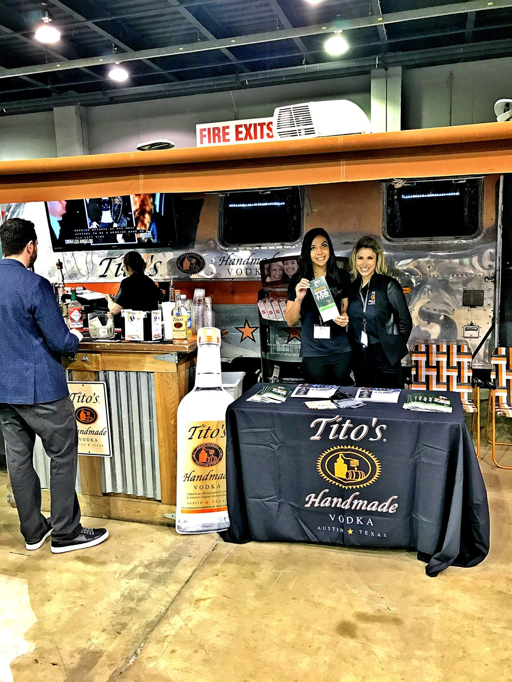 Tito's Handmade Vodka brought the Happy Hour!