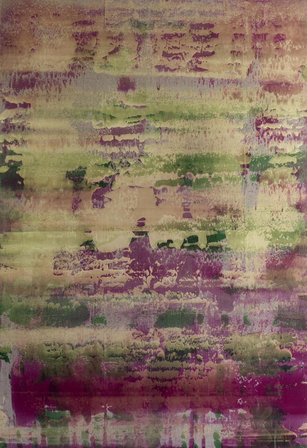 """Untitled  Thomas Zitzwitz ZW161 Acrylic on Canvas 75"""" x 52"""""""