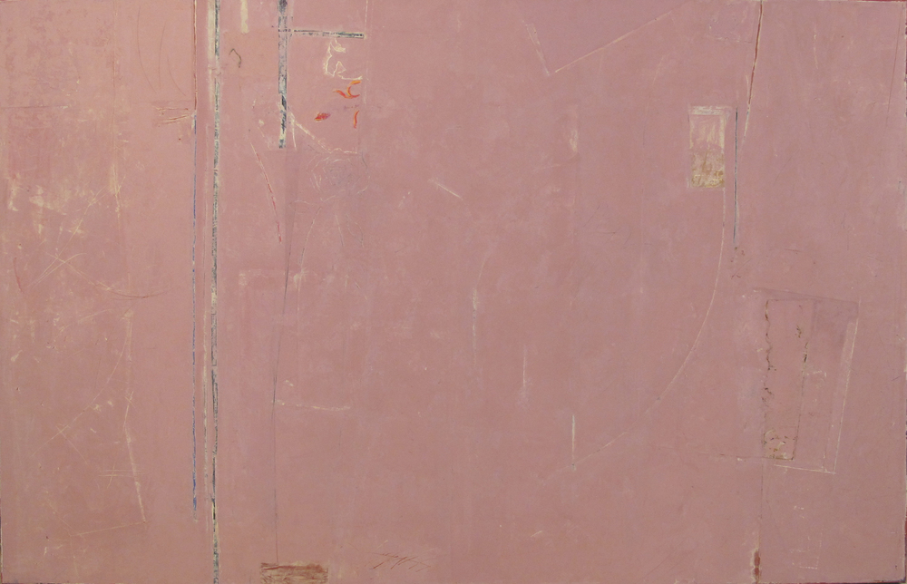 "Up in the Corner  John Pavlicek JP3346 Mixed Media on Canvas 42"" x 66"""