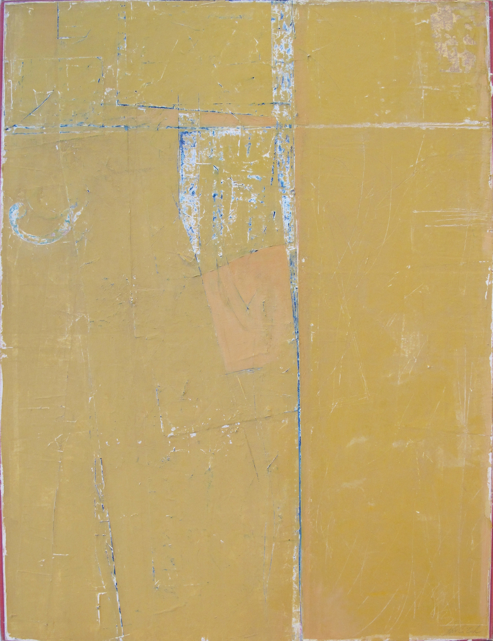 "Terce  John Pavlicek JP3336 Mixed Media on Canvas 32"" x 24"""