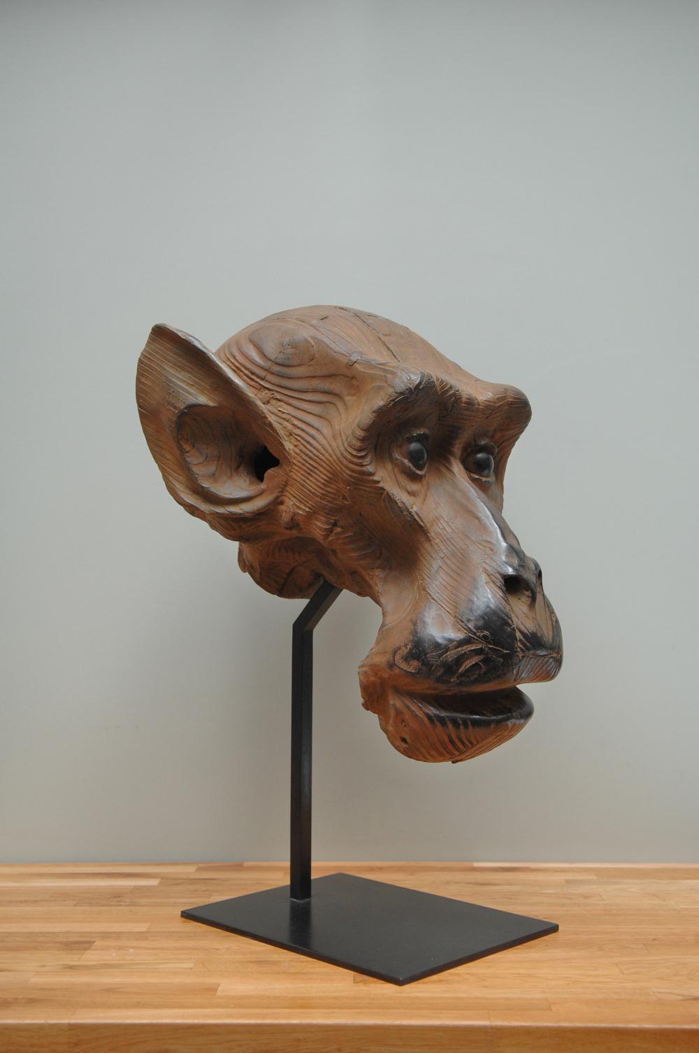 "Etude d'Macaque  Quentin Garel QG109 Bronze 30"" x 21"" x 19"""