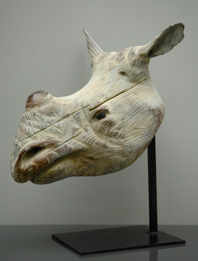"Rhinocéros  Quentin Garel QG104 Bronze 27"" x 17"" x 23"""