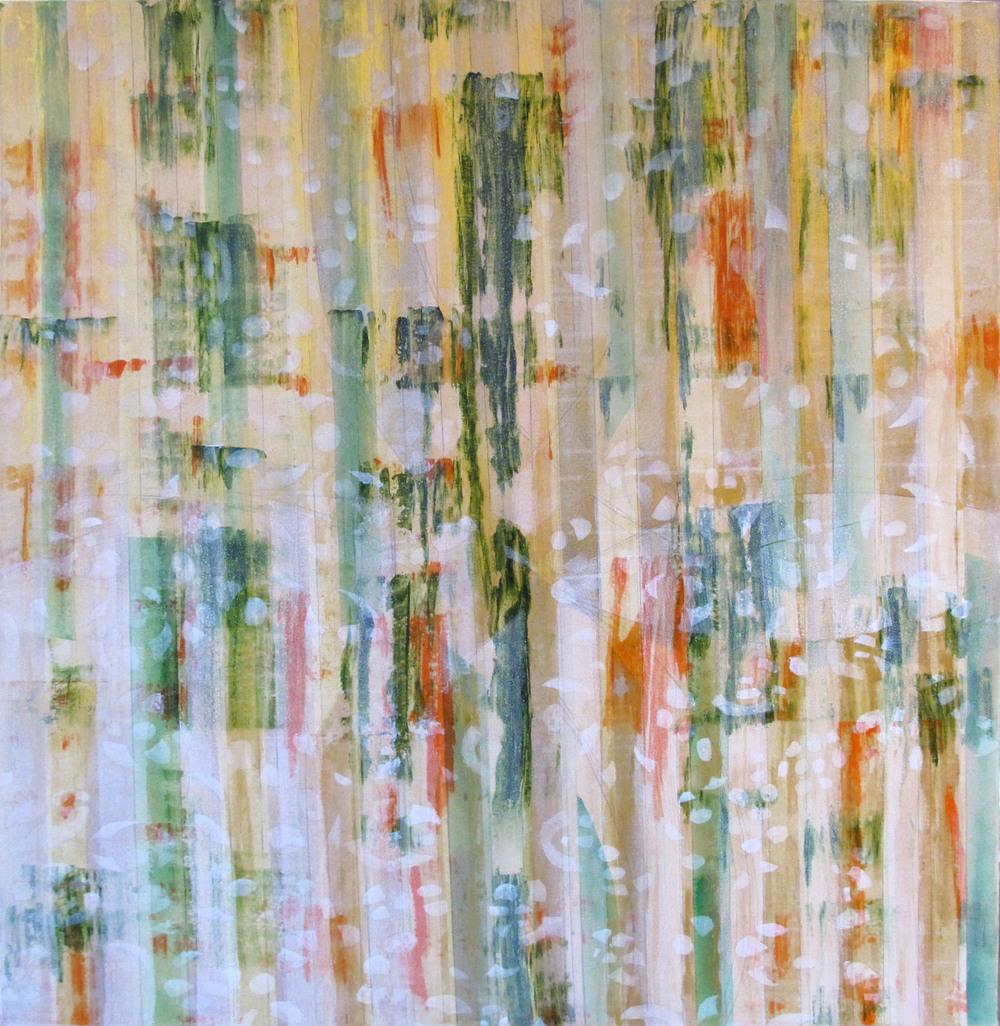 "Liminal Spaces  83 Elizabeth Chandler EC1061 Acrylic on Canvas 60"" x 54"""