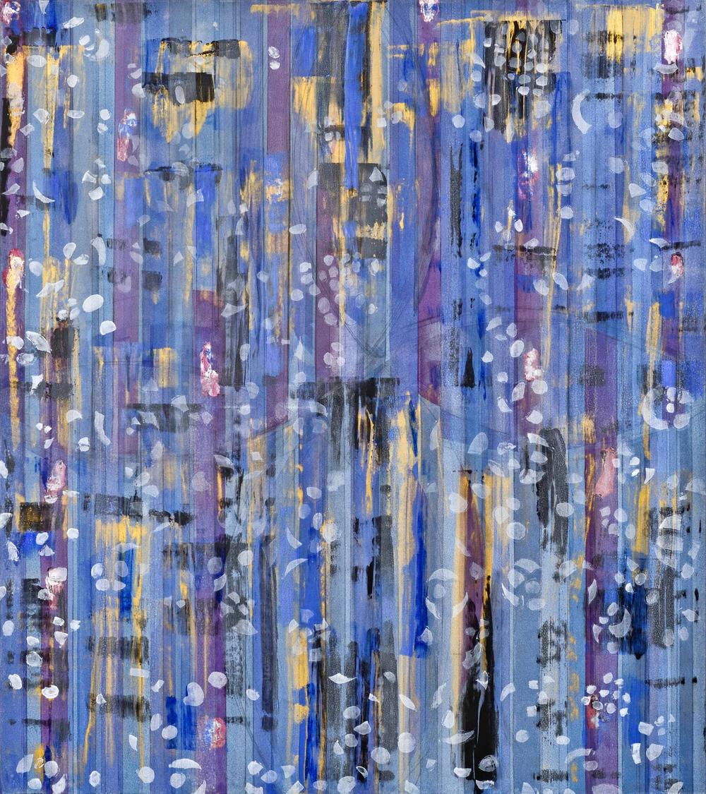 "Liminal Spaces  82 Elizabeth Chandler EC1058 Acrylic on Canvas 72"" x 64"""