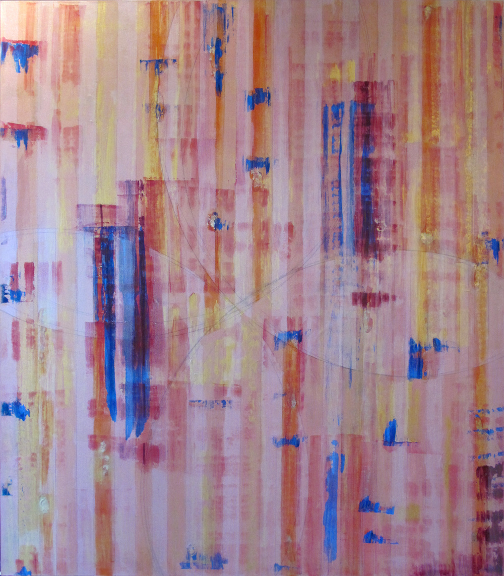 "Liminal Spaces  99 Elizabeth Chandler EC1055 Acrylic on Canvas 72"" x 64"""