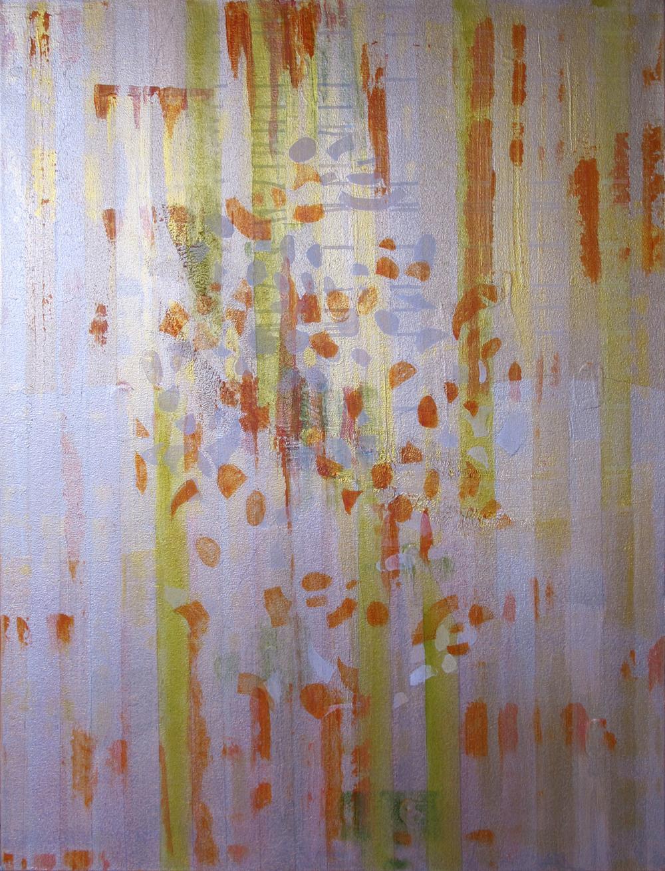 "Liminal Spaces  93 Elizabeth Chandler EC1054 Acrylic on Canvas 40"" x 30"""