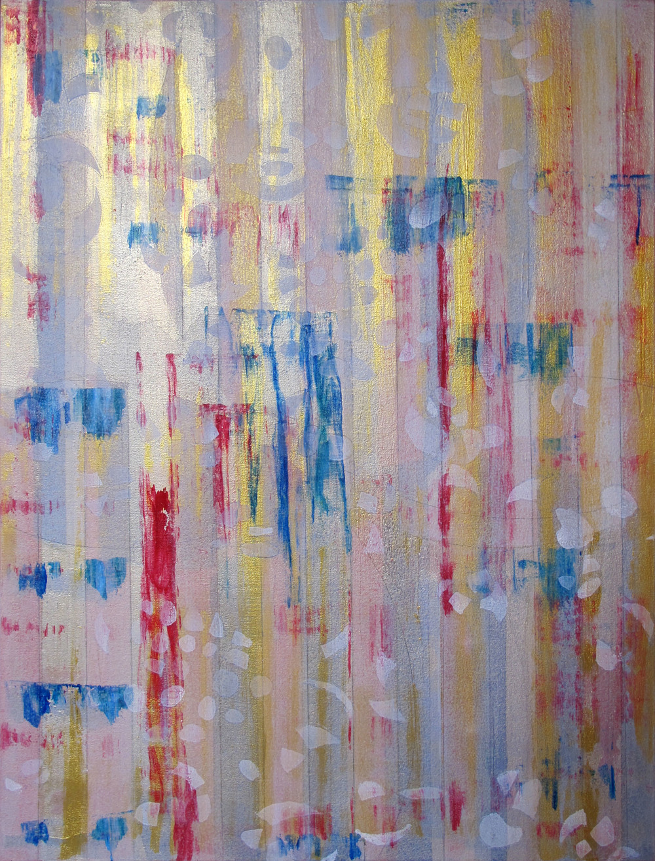 "Liminal Spaces  90 Elizabeth Chandler EC1051 Acrylic on Canvas 40"" x 30"""